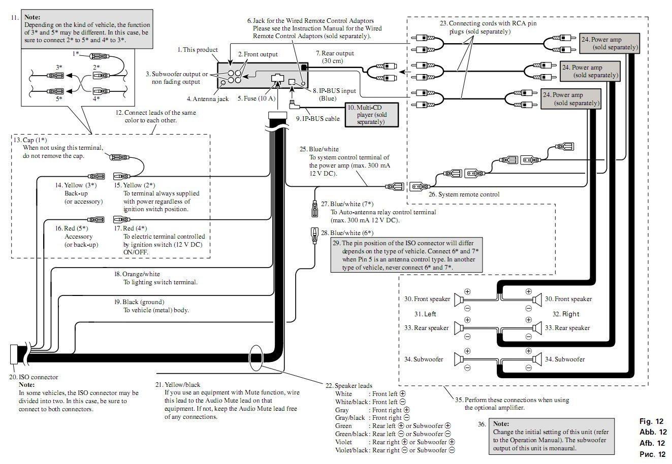 Deh X3700ui Wiring Diagram