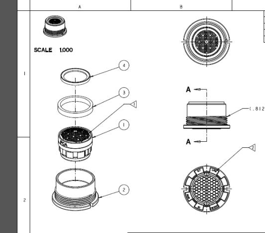Delta Faucet Aerator Assembly Diagram