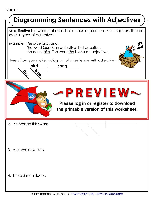 Diagramming Sentences App