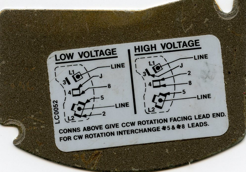 Doerr Motor Lr22132 Wiring Diagram