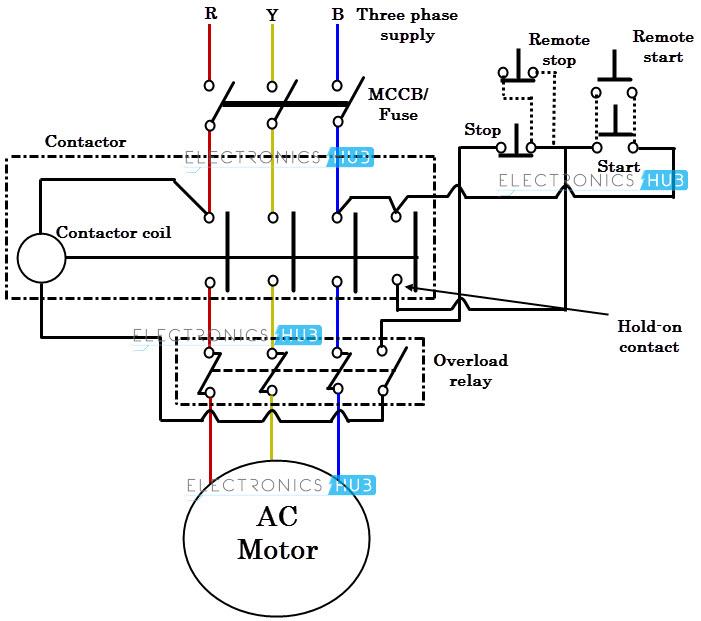 Dol Starter Wiring Diagram 3 Phase Pdf