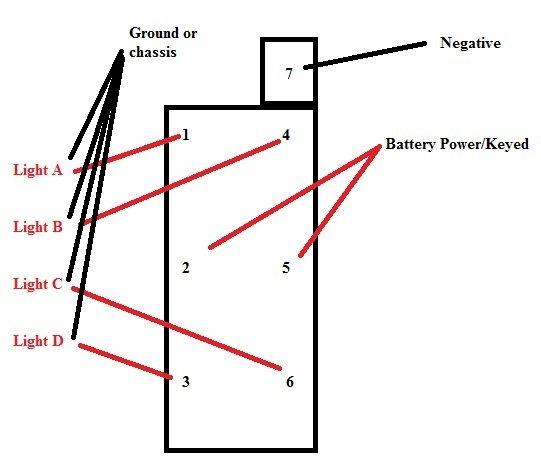 Dorman 84944 8 Pin Rocker Switch Wiring Diagram