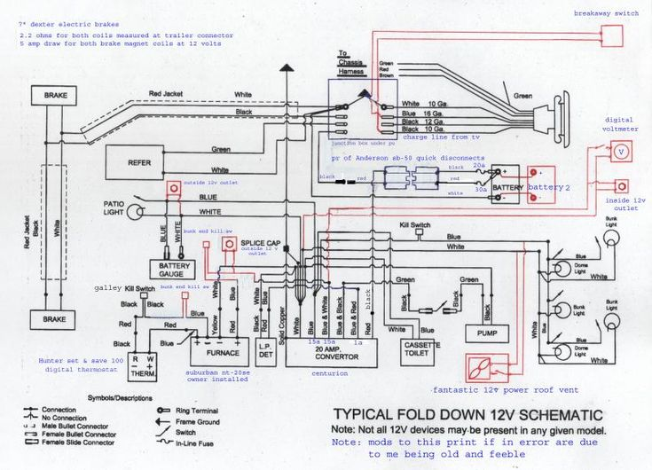 Dual Battery Wiring Diagram For A 2005 Fleetwood Prowlerl Travel Trailer