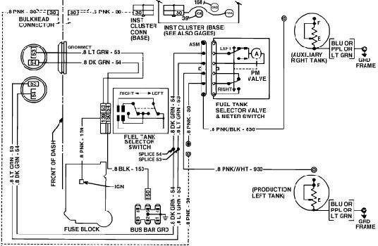 Dual Fuel Tank Wiring Diagram 1991 Chevy C30