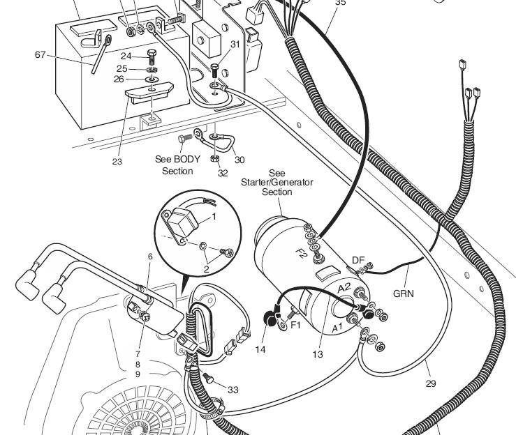 E Z Go Workhorse 1200 Wiring Diagram