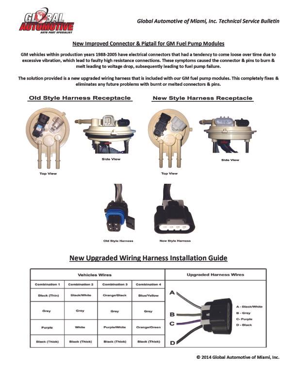 E16025 Precision Fuel Pump Wiring Diagram