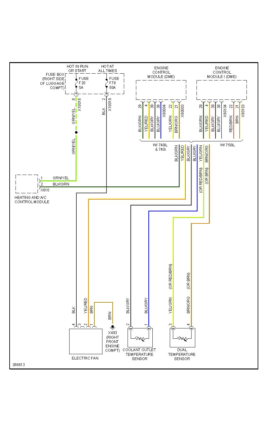 E39 Auxiliary Fan Wiring Diagram
