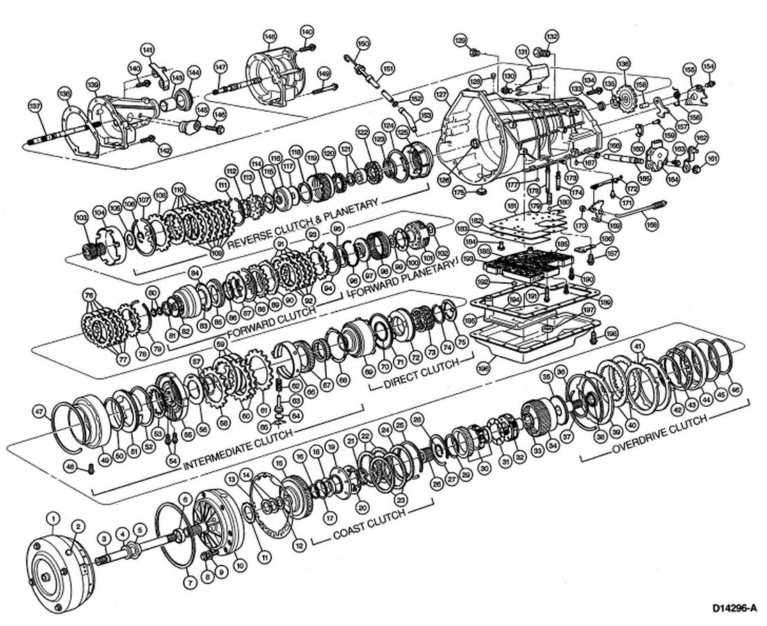 E40d Transmission Wiring Diagram