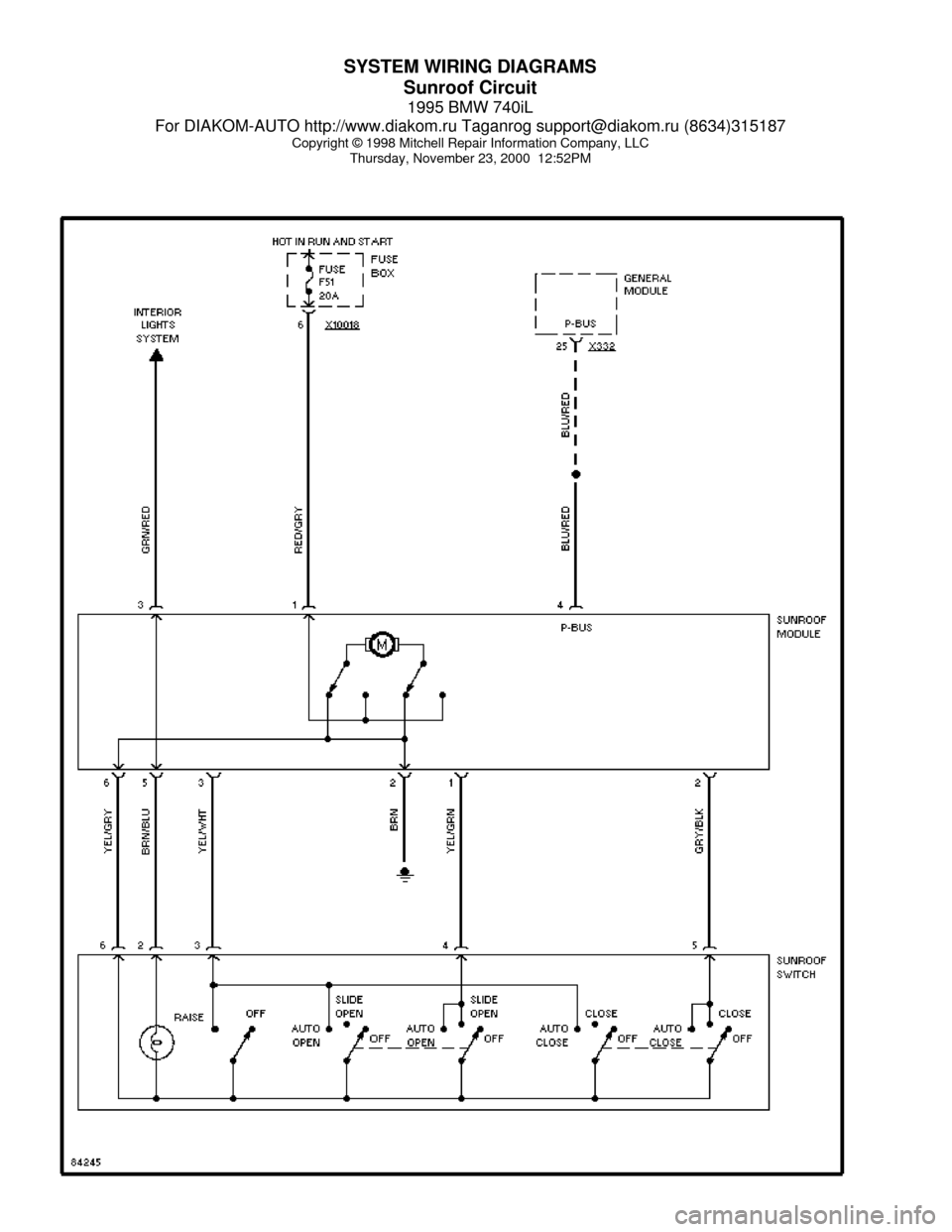 E46 Ldp Wiring Diagram