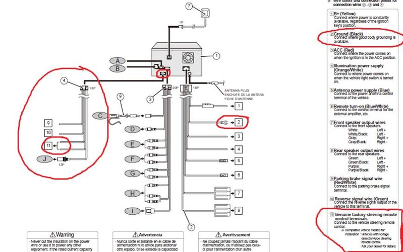 Eclipse Avn726e Wiring Diagram