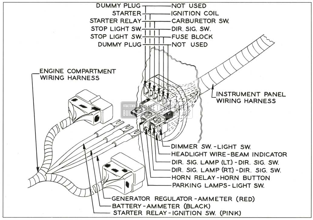 Engine Compartment Wiring Diagram For 1967 Buick Skylark