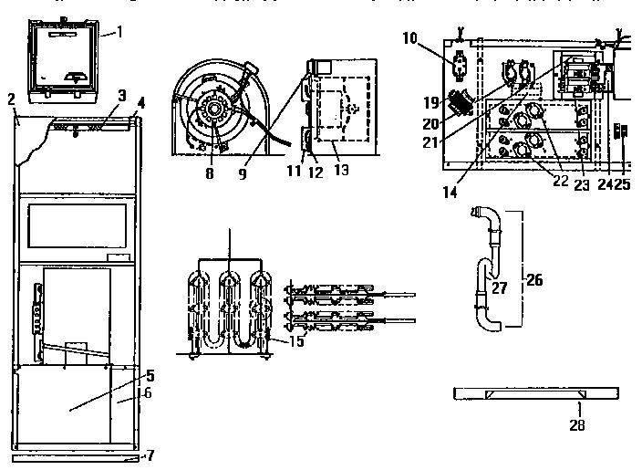 evcon model no brcq042c capacitor wiring diagram