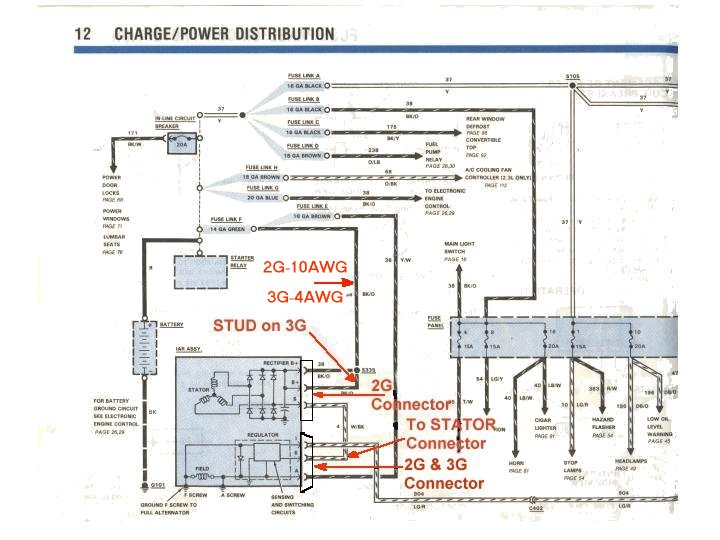 Ford 2g Alternator Wiring Diagram