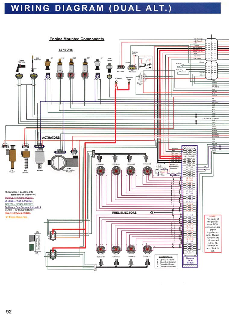 Ford 6.0 Diesel Ficm Wiring Diagram