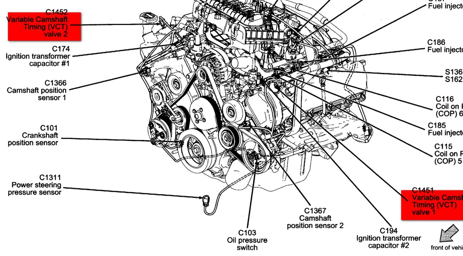 Mustang Firing Order Diagram On 2001 Furthermore Ford Mustang Engine
