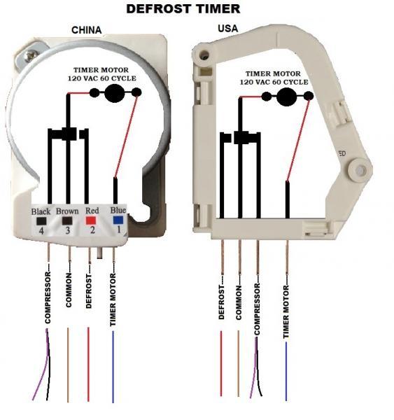 Freezer Defrost Timer Wiring Diagram