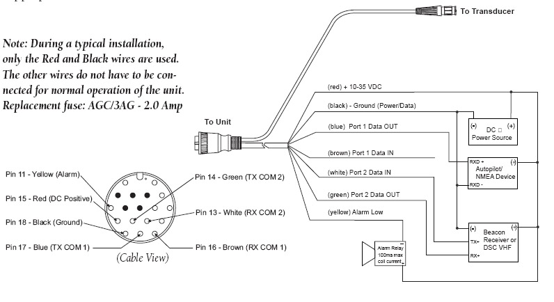 Garmin Nmea 0183 Wiring Diagram