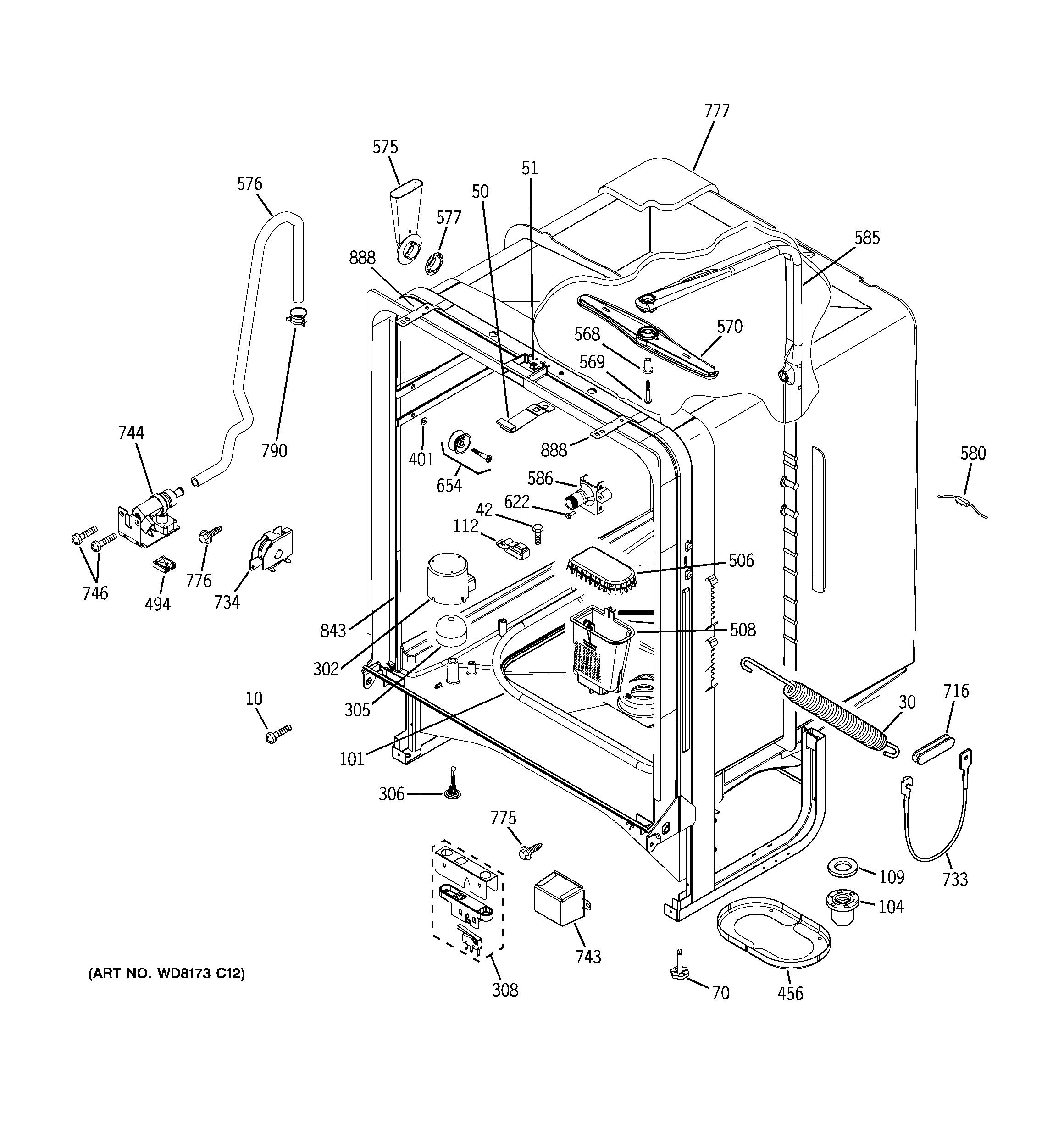 ge gld5500l00bb wiring diagram