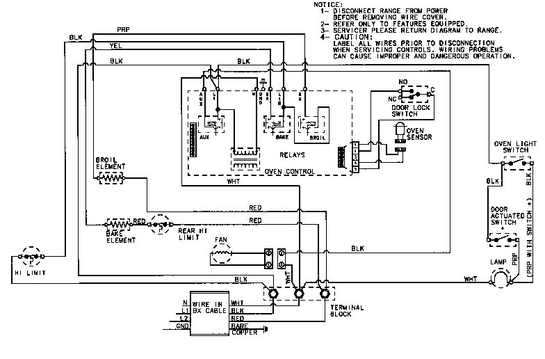 G E Wiring Diagram from diagramweb.net