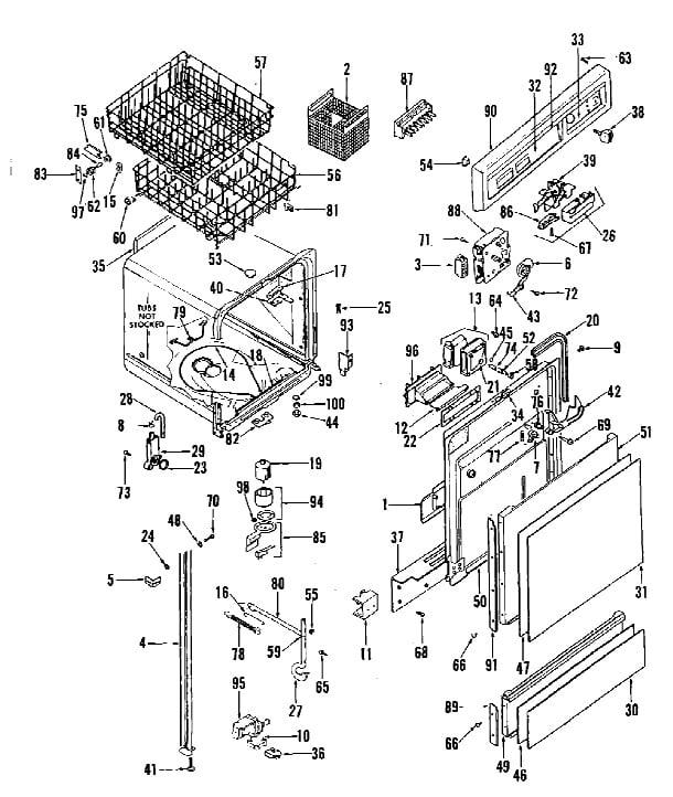 Ge Triton Xl Dishwasher Wiring Diagram