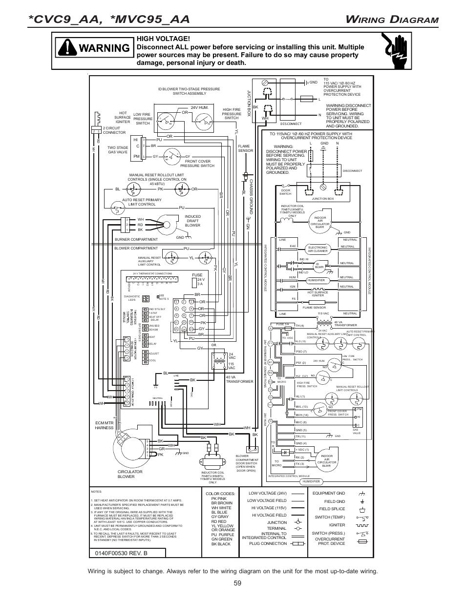 Goodman 83317 Disconnect Wiring Diagram