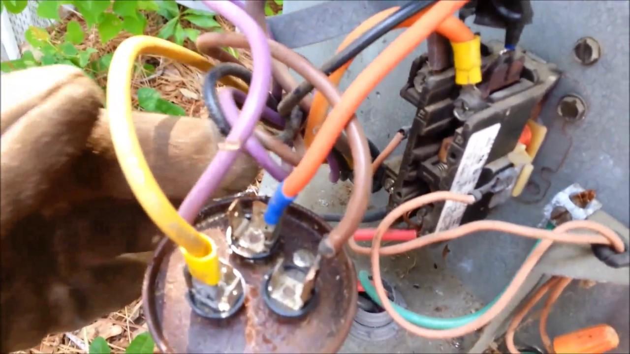 Goodman Ck24 1b Starter Capacitor Wiring Diagram on