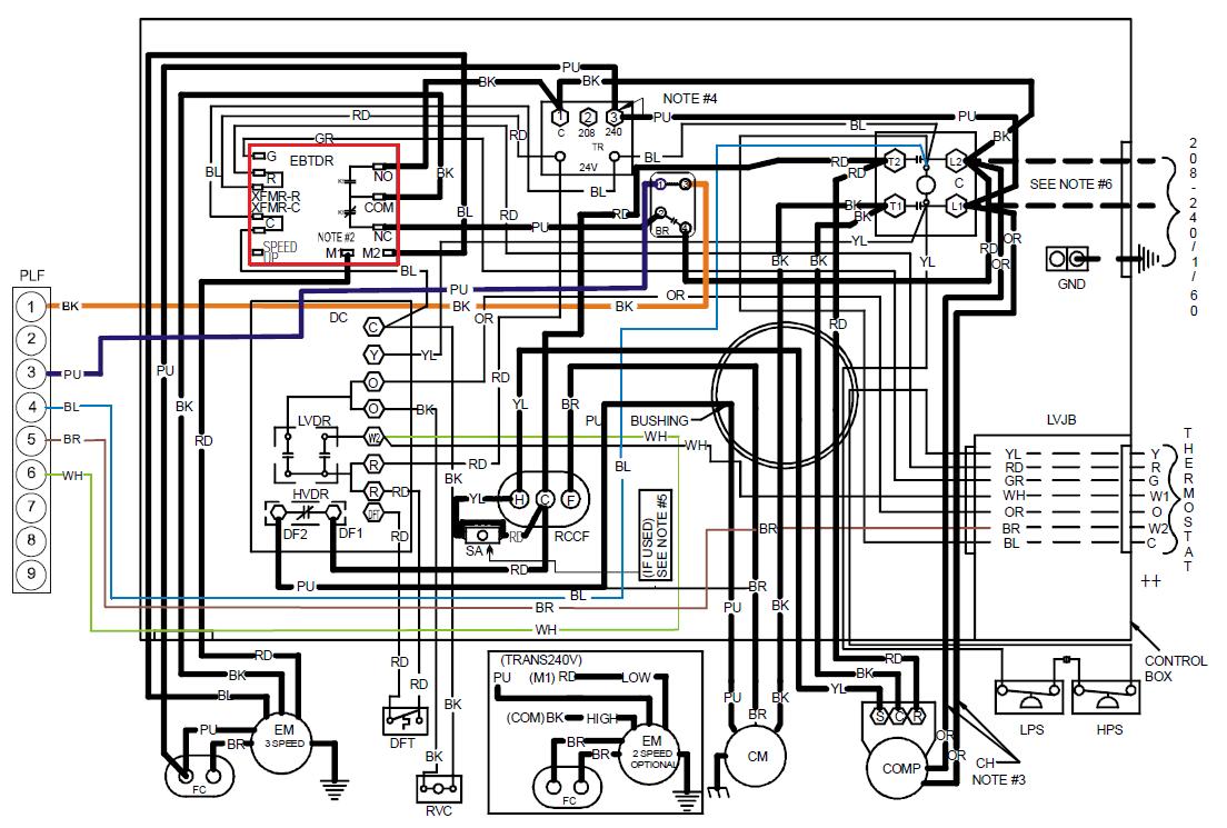 Goodman Pcbfm103s Wiring Diagram