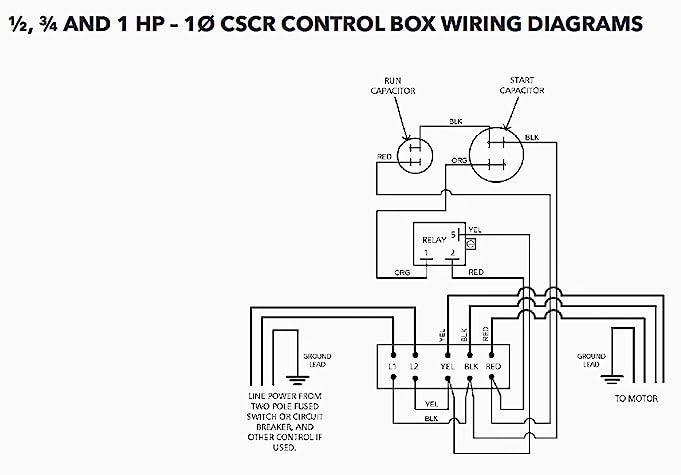 Goulds Water Pump Wiring Diagram on