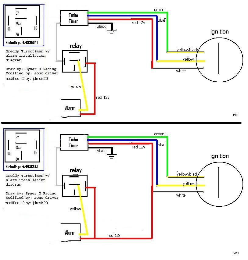 Greddy Turbo Timer Wiring Diagram