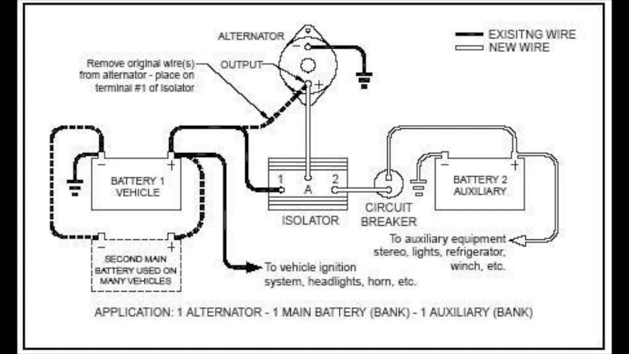 Boat Battery Isolator Switch Wiring Diagram Manual Guide