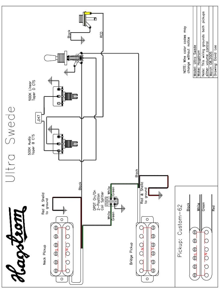 Schecter Wiring Diagrams