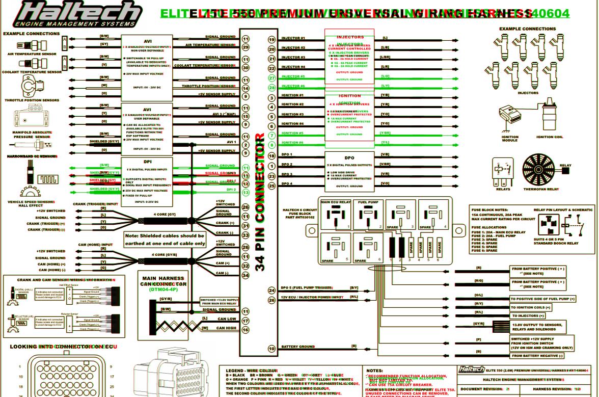 Haltech 1500 13b Wiring Diagram