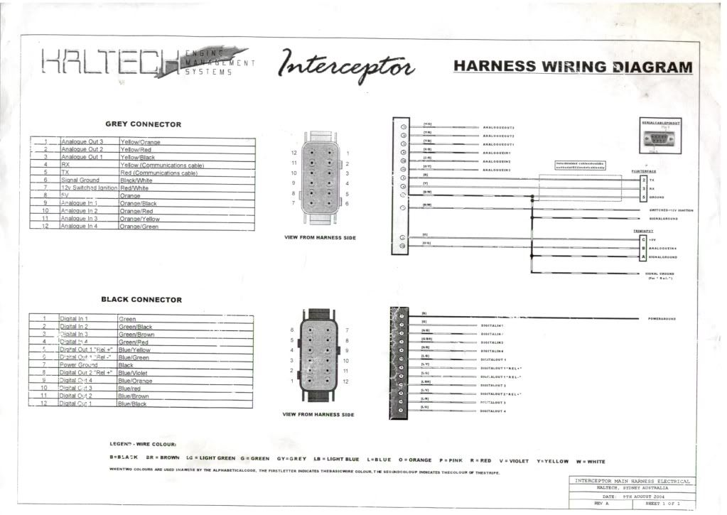 Haltech Sprint Re Wiring Diagram