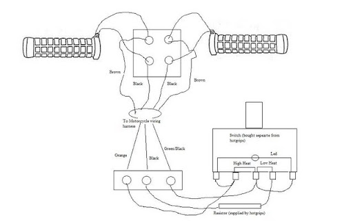 Harley Davidson Heated Grips Wiring Diagram