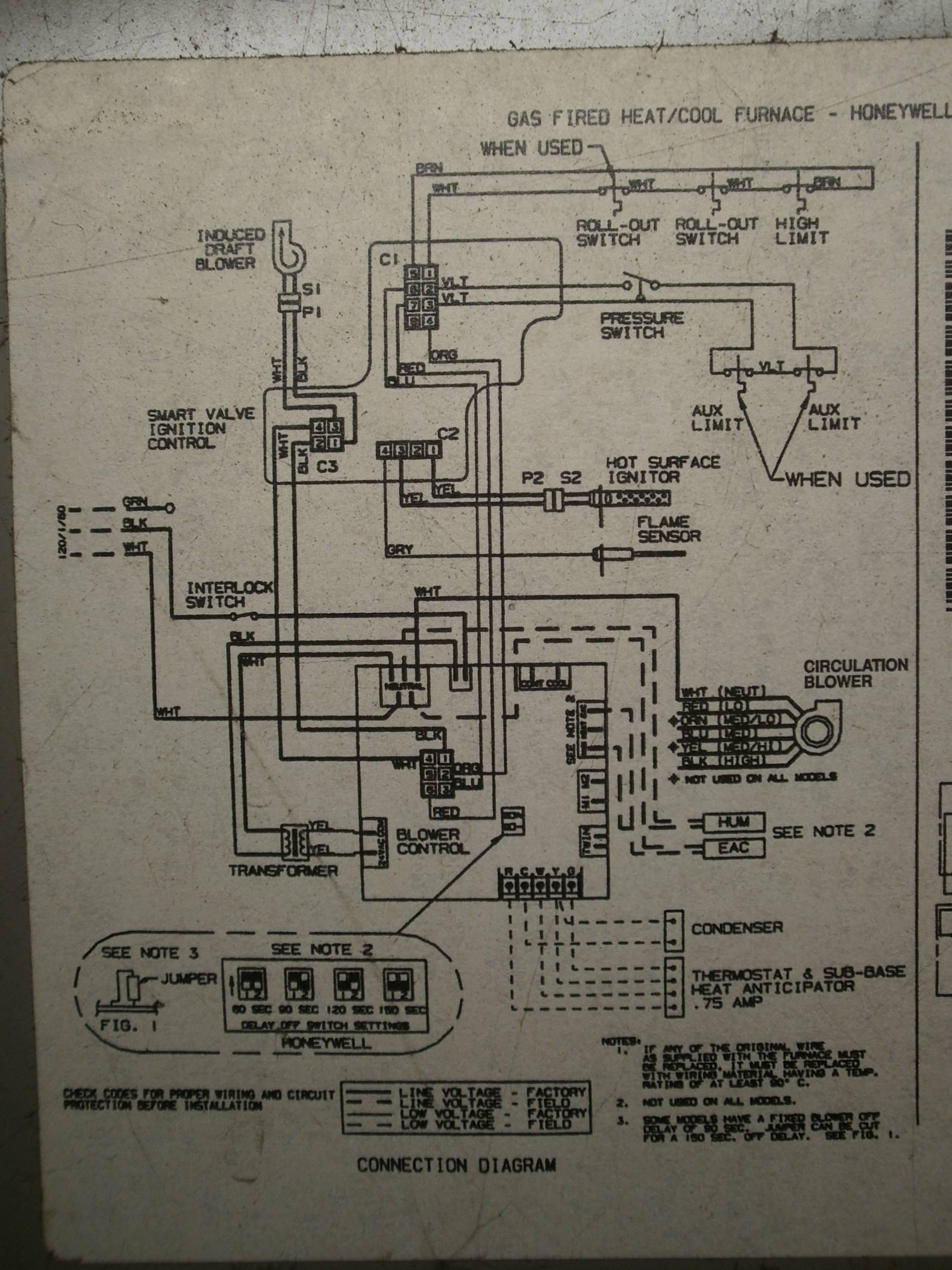 Heil 5000 Blower Motor Board Wiring Diagram