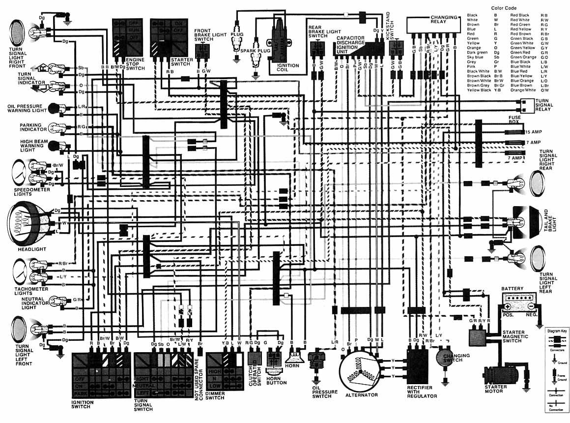 Honda 1983 Cm250 Wiring Diagram