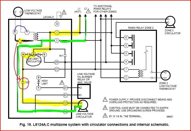 Honeywell L8124a Wiring Diagram Guitar Wiring Diagrams Washburn For Wiring Diagram Schematics