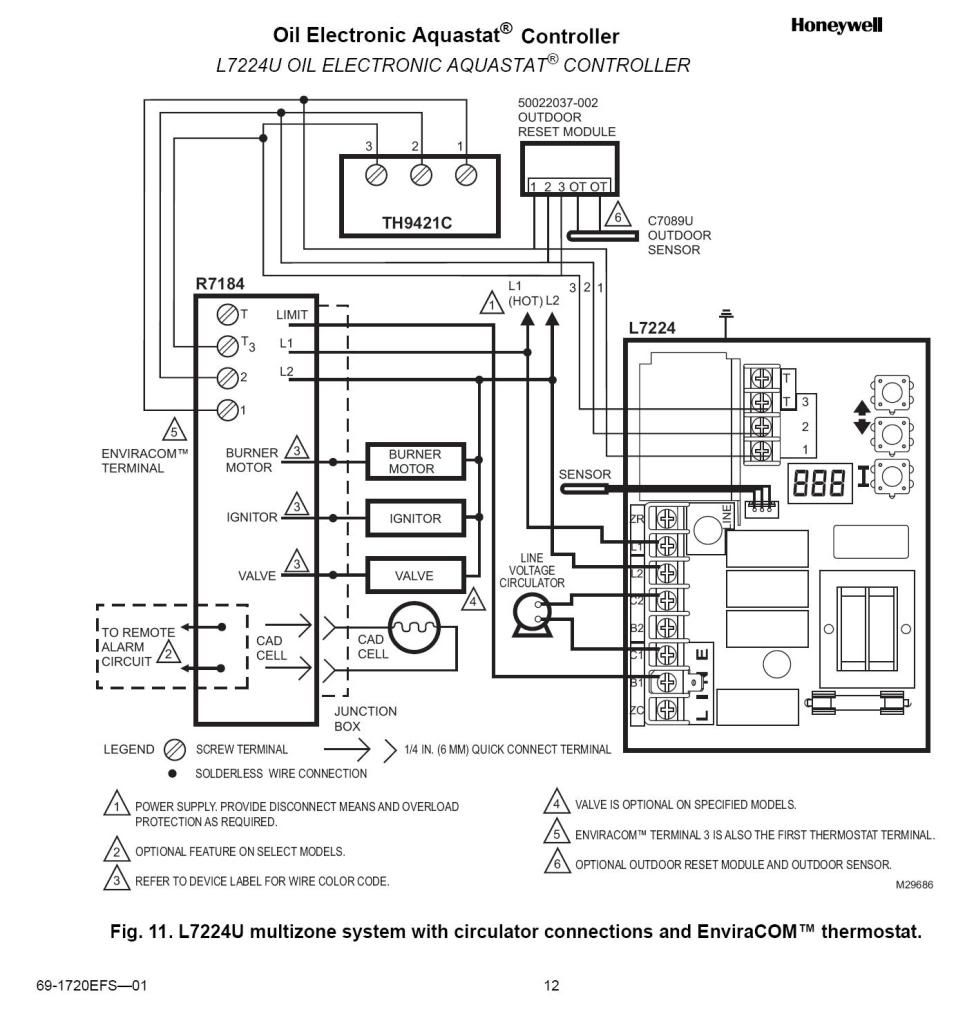 Wiring Diagram Further Honeywell Wire Thermostat Wiring Additionally