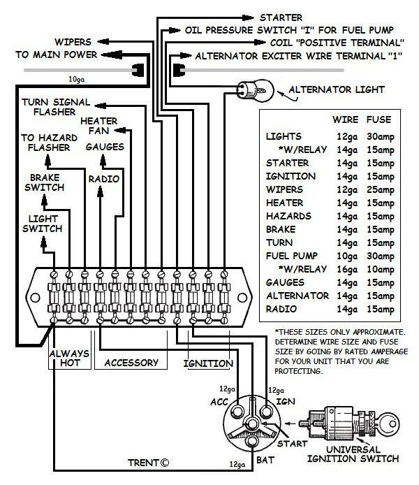 Honeywell T87 Wiring Diagram