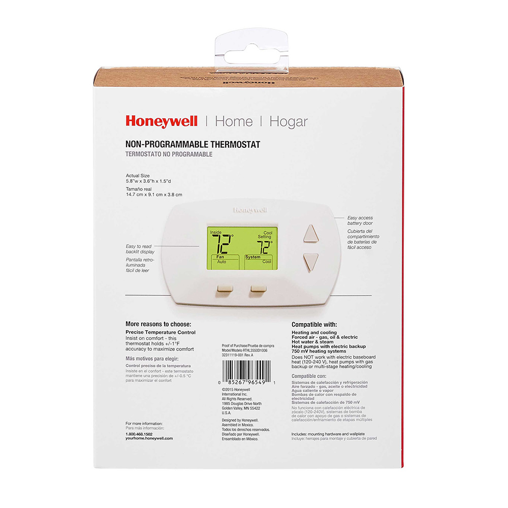 Honeywell Thermostat Th5220d1029 Wiring Diagram