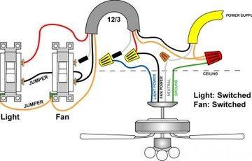 Hunter 21620-42 Fan Wiring Diagram