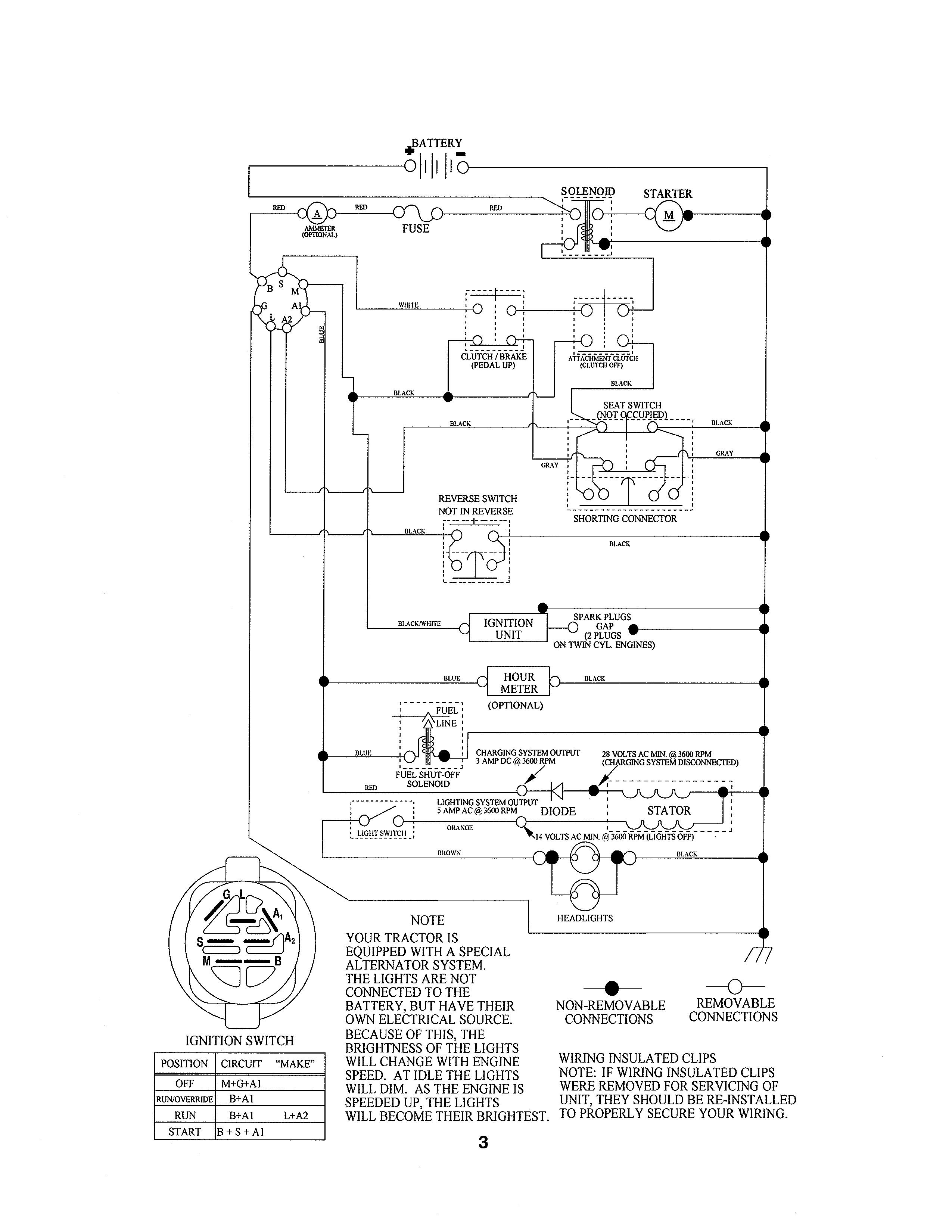 Husqvarna Yth2348 Wiring Diagram