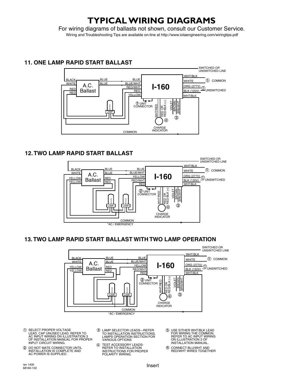 I32 Emergency Ballast Wiring Diagram