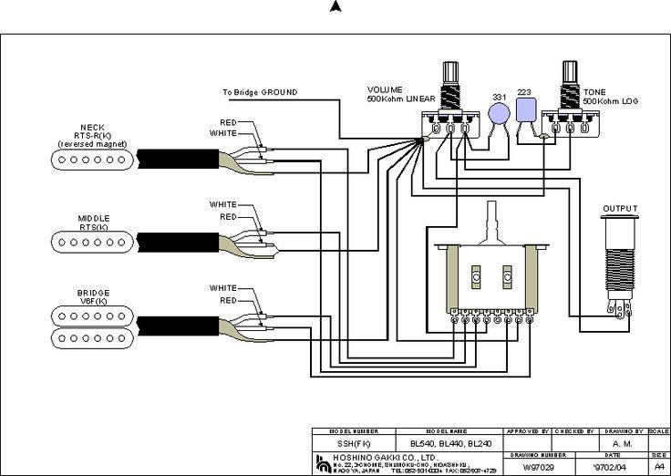 Ibanez B Pickup Wiring Diagram
