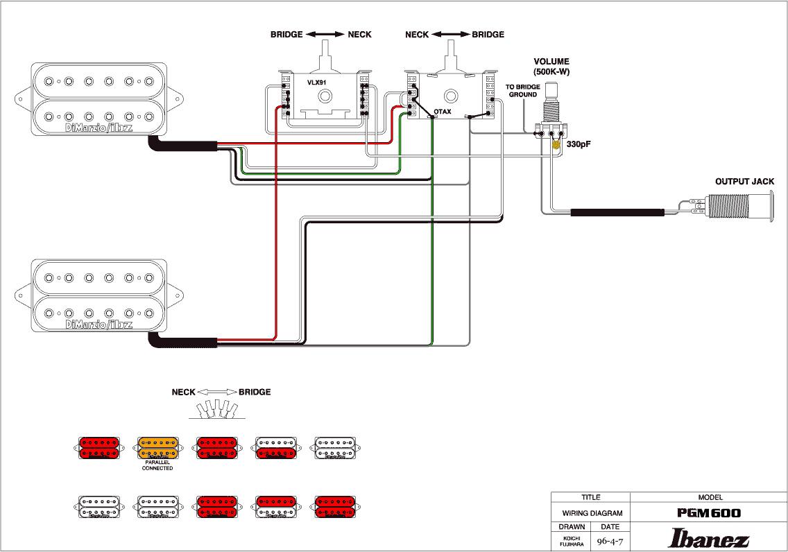 Ibanez Sr500 B Wiring Schematics. . Wiring Diagram on