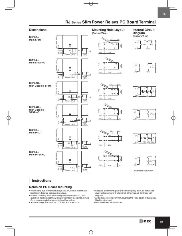 Idec Relay Wiring