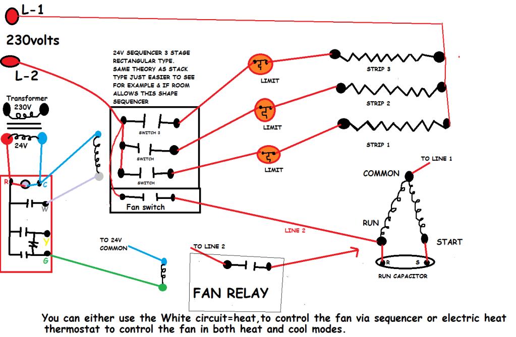 Intertherm Sequencer Wiring Diagram