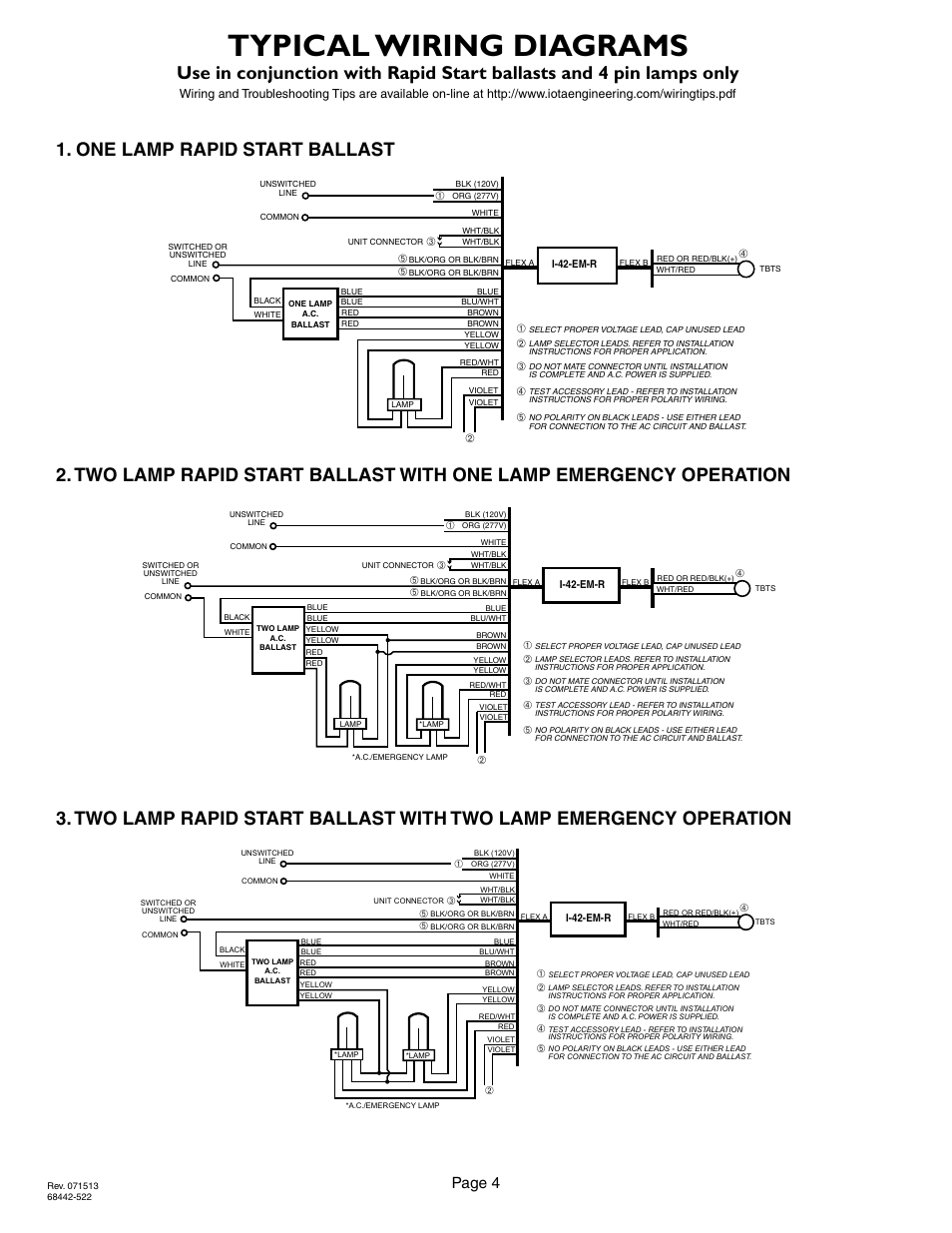 Emergency Ballast Wiring Diagram For Two - Wiring Diagram K8 on