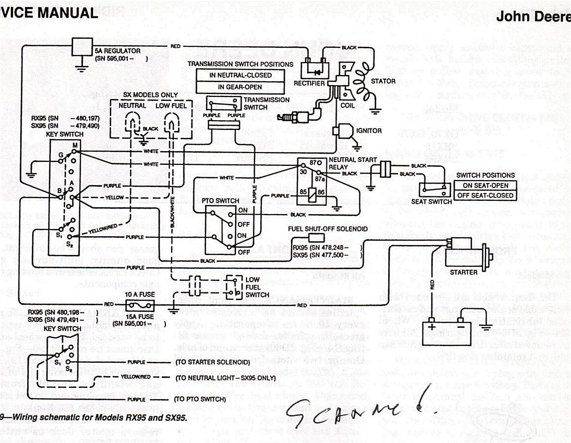 Lawn Mower Starter Solenoid Wiring Diagram Craftsman Lawn Mower Wiring