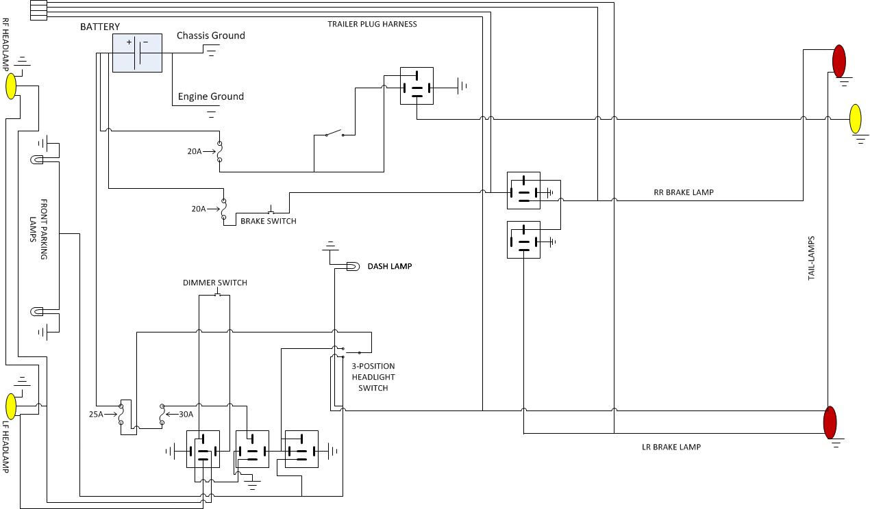 Jeep Cj2a Wiring Diagram